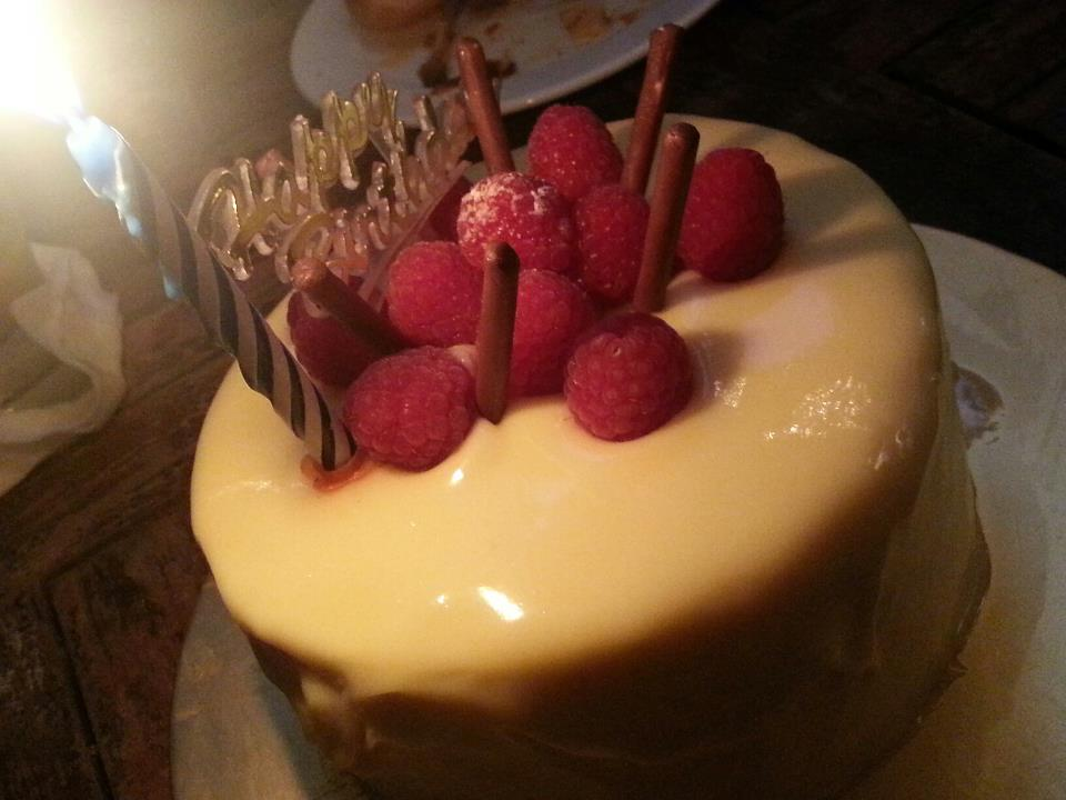 white chocolate mousse cake assorted fruit cake