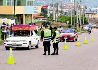 Honduran police operativos