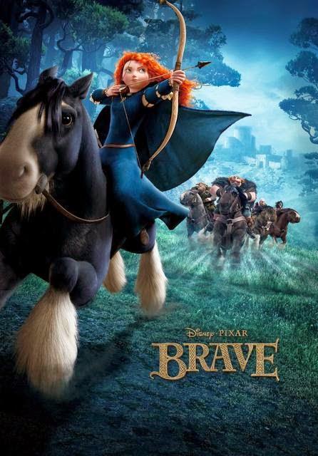 Công Chúa Tóc Xù - Brave - 2012