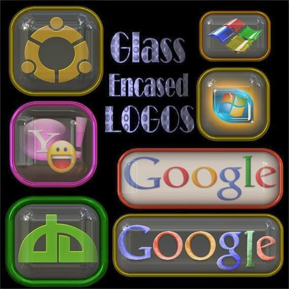 Glass Encased Icons
