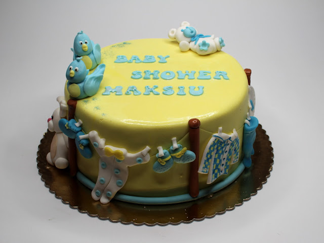 Baby Shower Cake - London