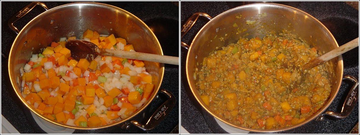 Secretos para cocinar sano y sabroso sopa de trigo y una for Cocinar trigo