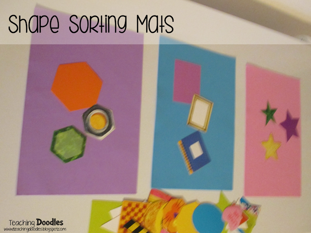 Hands-On Activity for Sorting Shapes