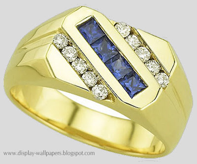 Gold Finger Rings Designs For Men