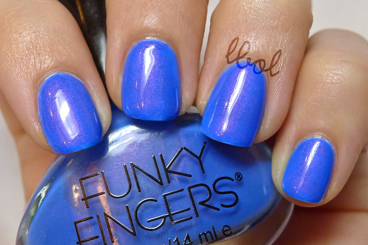 Funky Fingers Let The Beat Drop Swatch