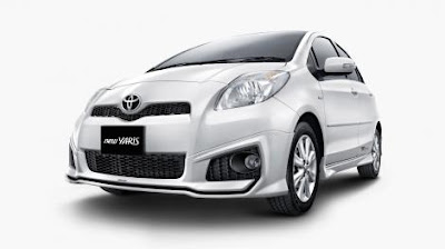 new yaris facelift 2012