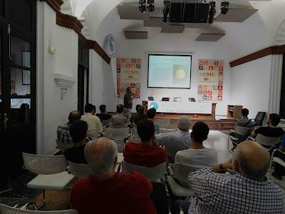 """Conferencia """"El Tajo de Verner. Nidos históricos de quebrantahuesos en las Sierras de Cádiz"""". Por José Manuel Amarillo Vargas, en el ciclo Martes Ornitológicos que el Grupo Local SEO-Sevilla organiza en el museo Casa de la Ciencia de Sevilla."""