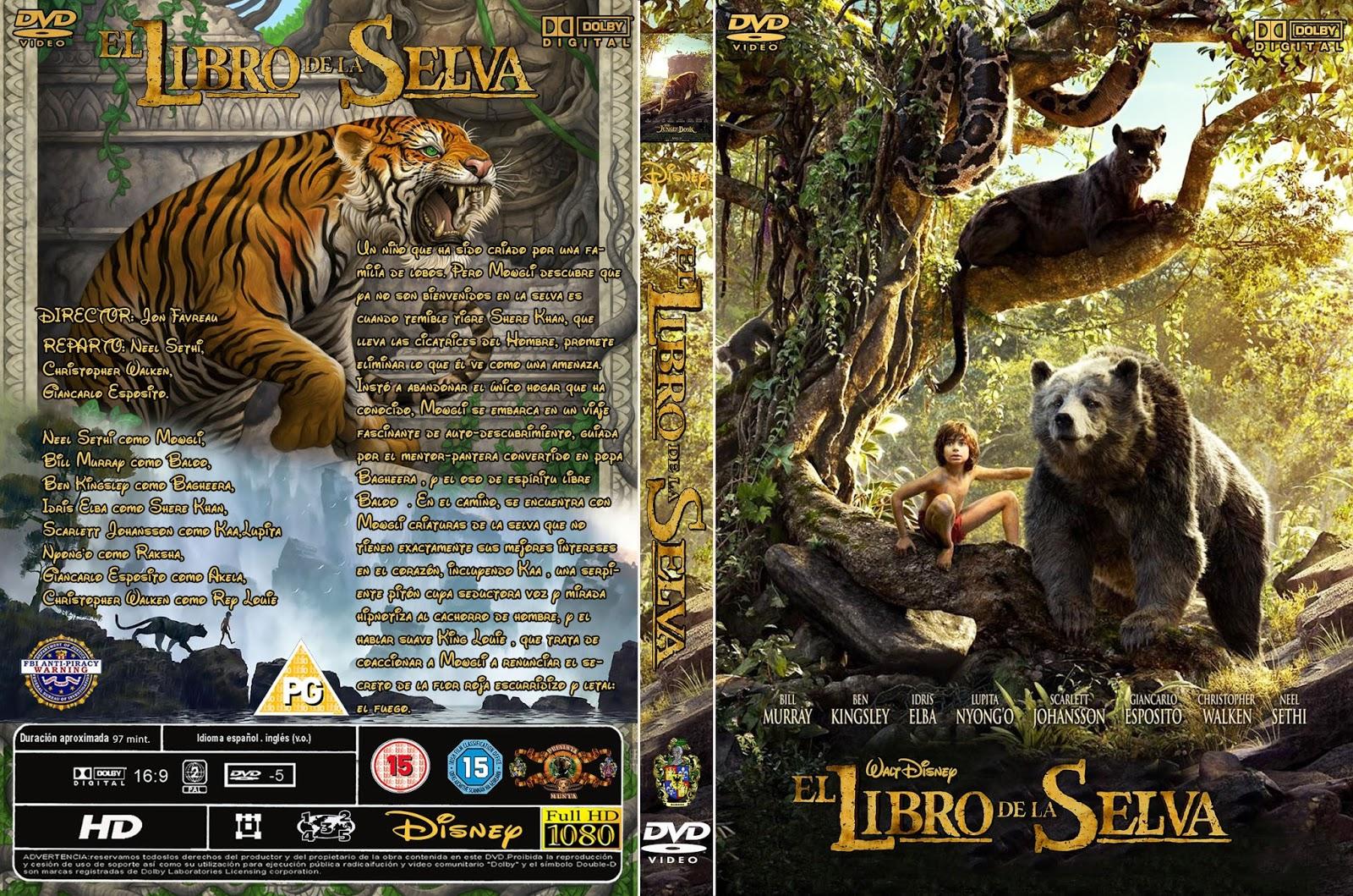 Jungle book movie poster original