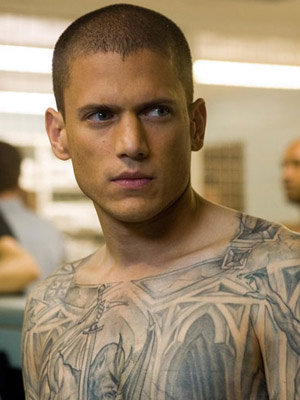 If all prisoners are as good looking as Michael Scofield I will rob a bank