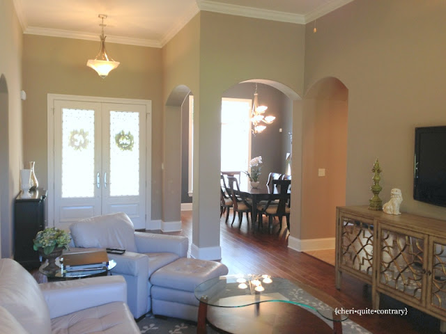 Perfect Greige Dining Room
