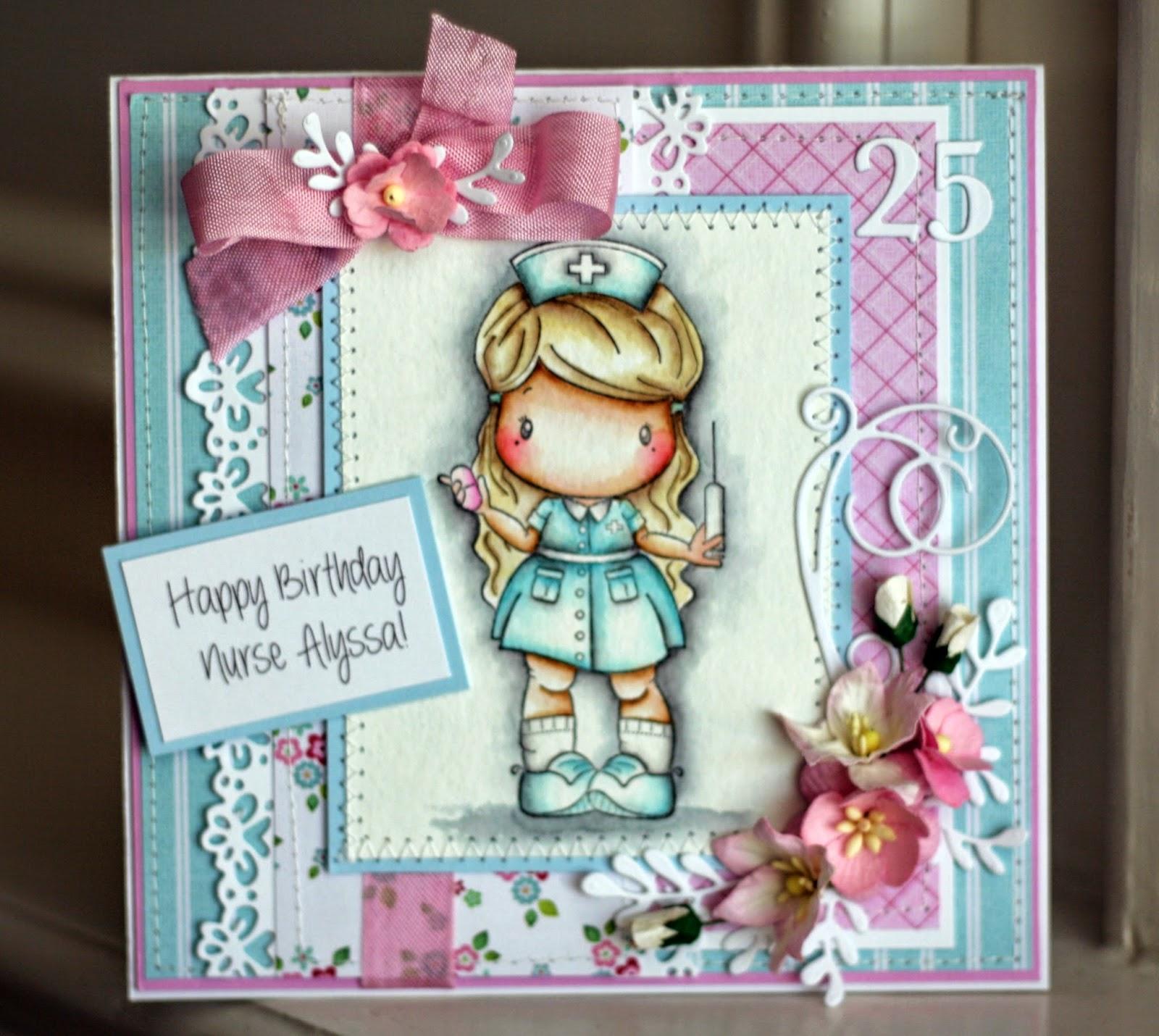 Denas Stamping Corner Birthday Card For My Daughter