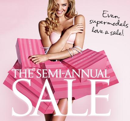Victoria secret semi annual sale dates in Australia