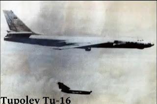 Pesawat Pengebom Tupolev TU-16