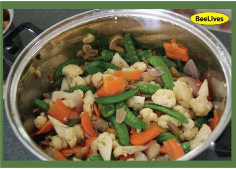 素食27 : 咖哩菜