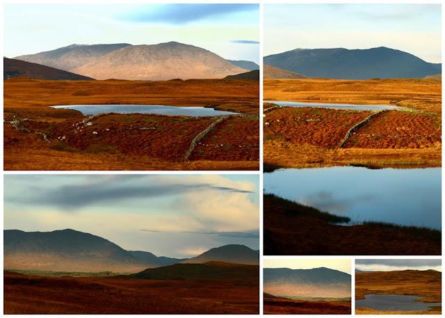 Connemara mountainscollage © Annie Japaud Photography, Connemara, Ireland, mountains,