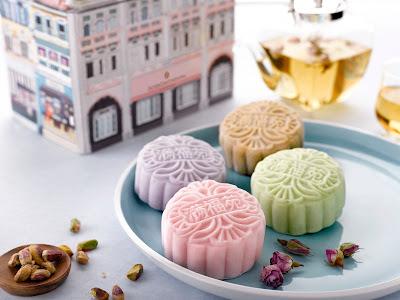 冰皮精选茶系列月饼