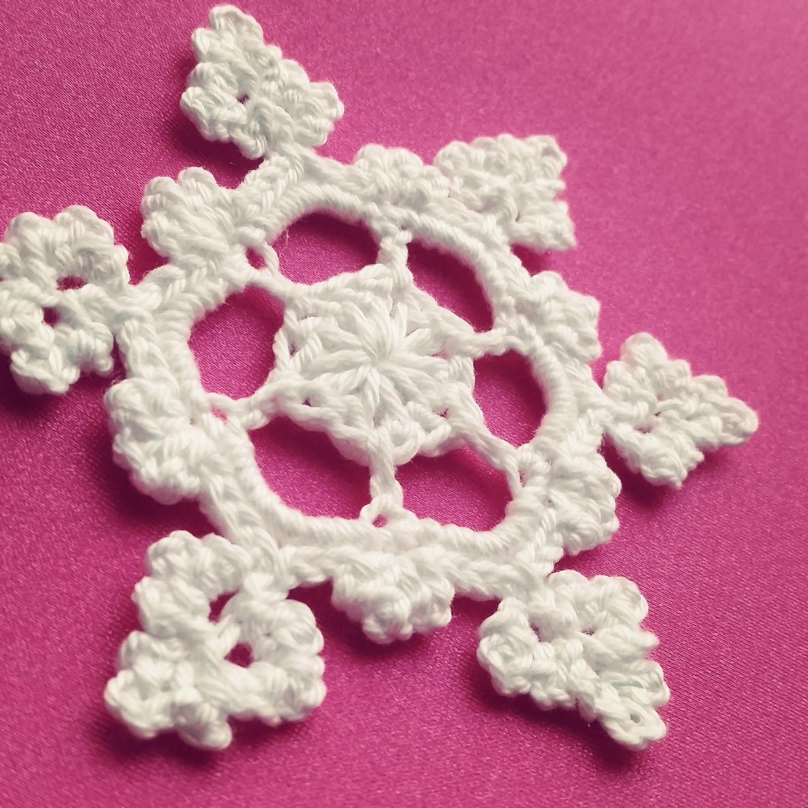 Cómo hacer un Copo de Nieve a Crochet - Ahuyama Crochet