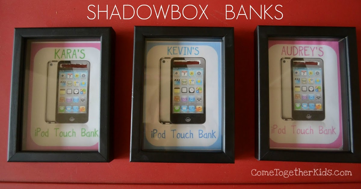 Shadowbox Banks (to save for something special)