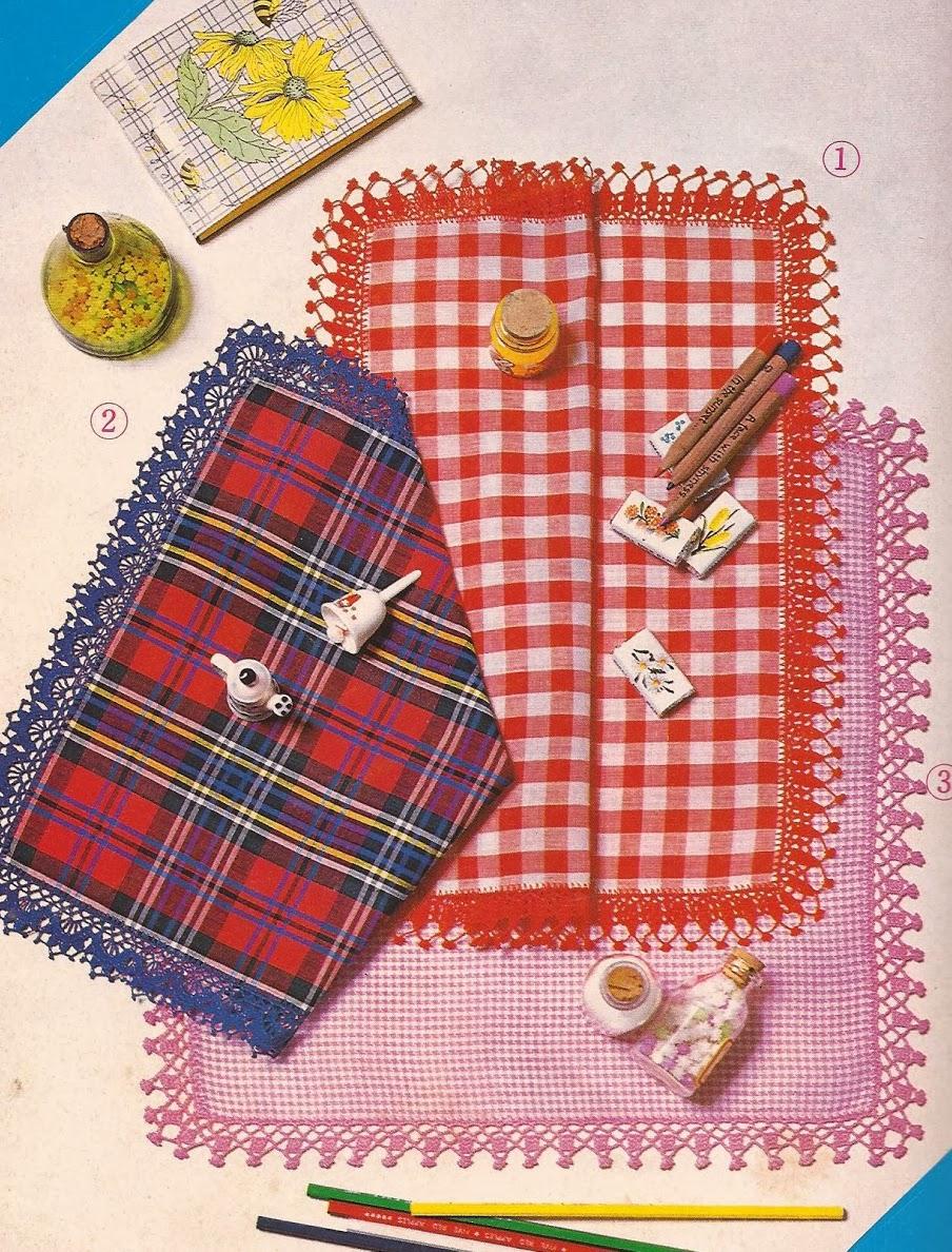 Puntillas para Pañuelos a Crochet