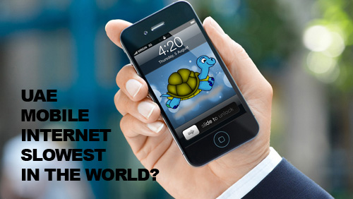 UAE has the Slowest Mobile Internet in the World