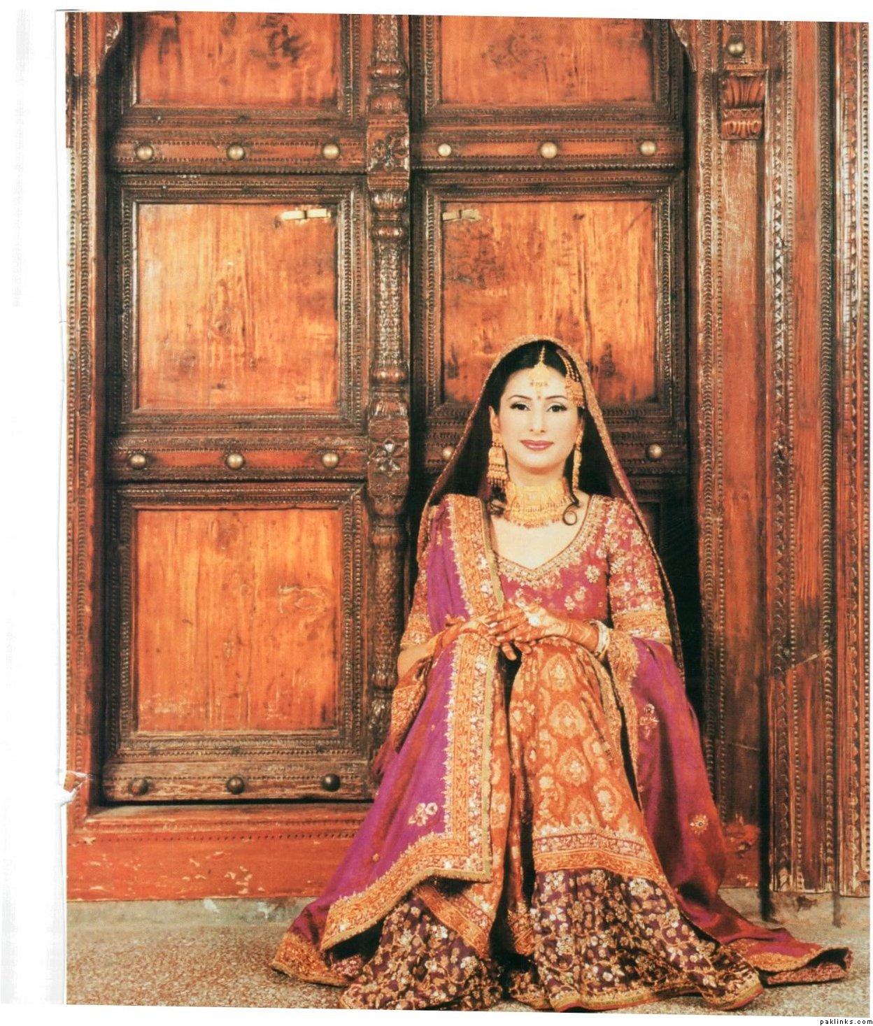 New Bridal Lehga Collection ~ Fashion Pakistan|Bridal Dresses Makeup ...