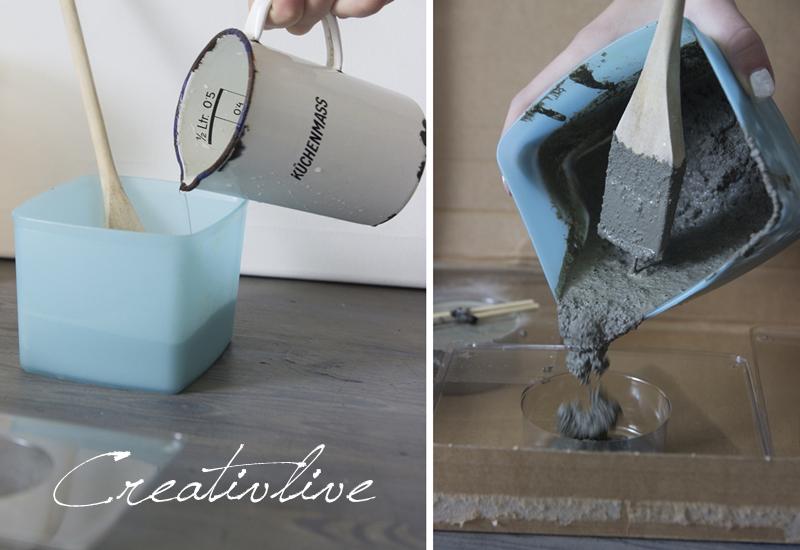 diy wandhaken dots aus beton creativlive. Black Bedroom Furniture Sets. Home Design Ideas