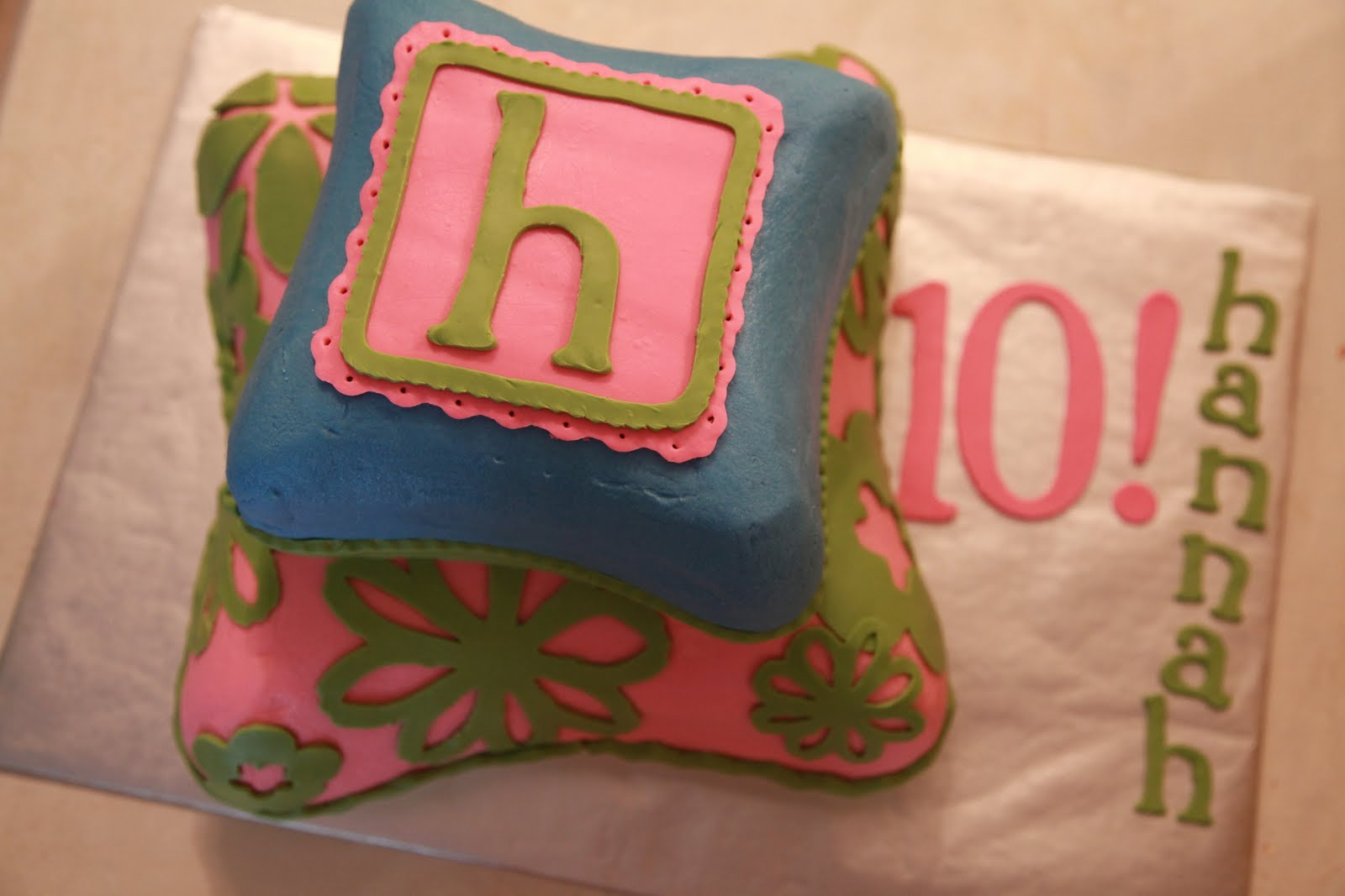 The Cake Box Girls Slumber Party Cake