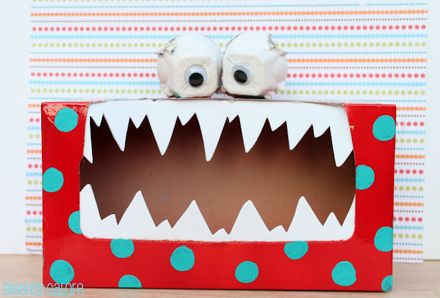 Tissue Box to Tattle Monster