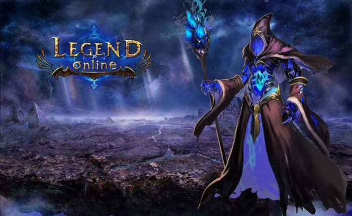 legend online personagem mago