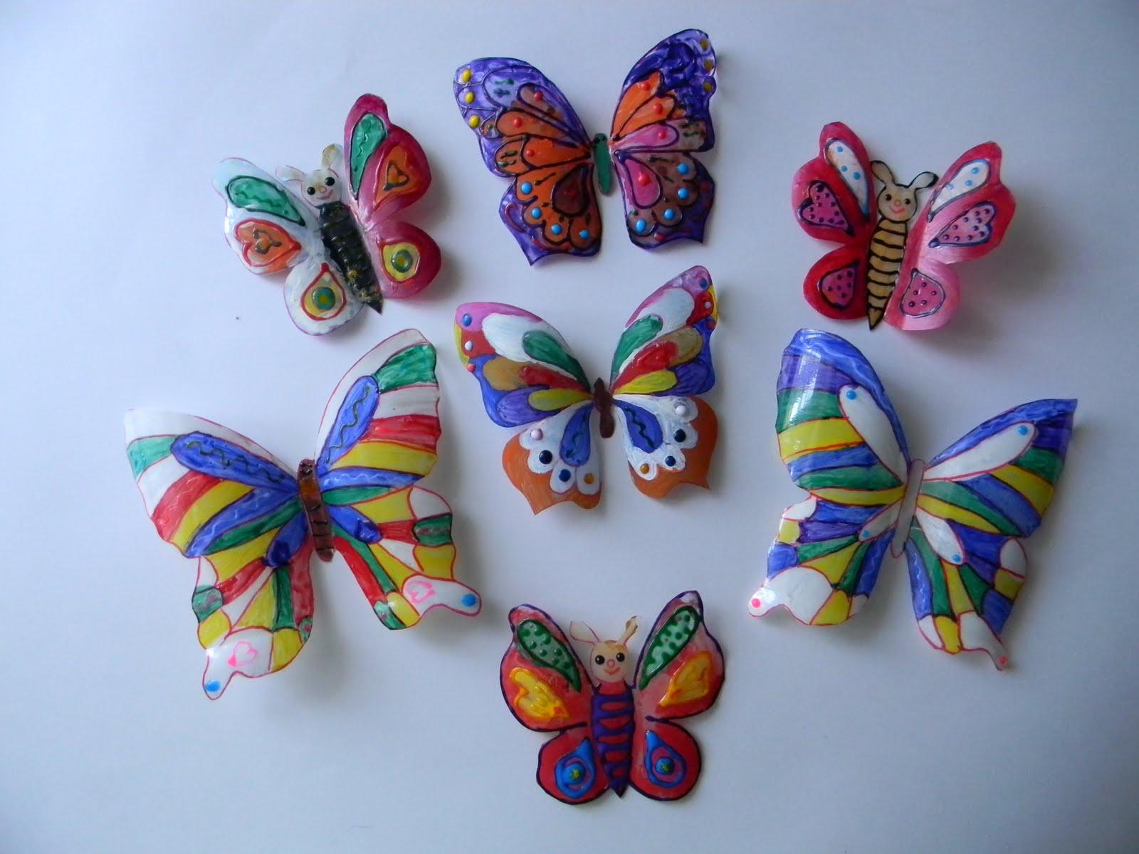 Как сделать бабочку для сада своими руками 93