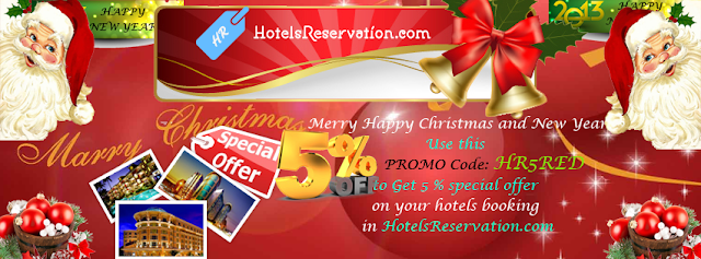 5% Discount Hotel Booking