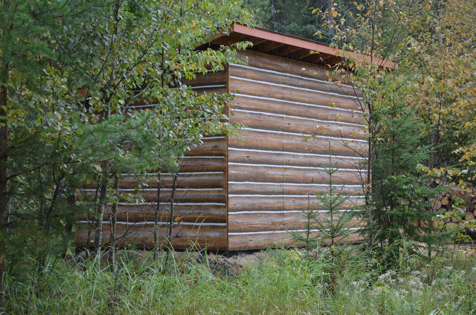 Macgirlver Log Cabin In The Woods Macgirlver Style