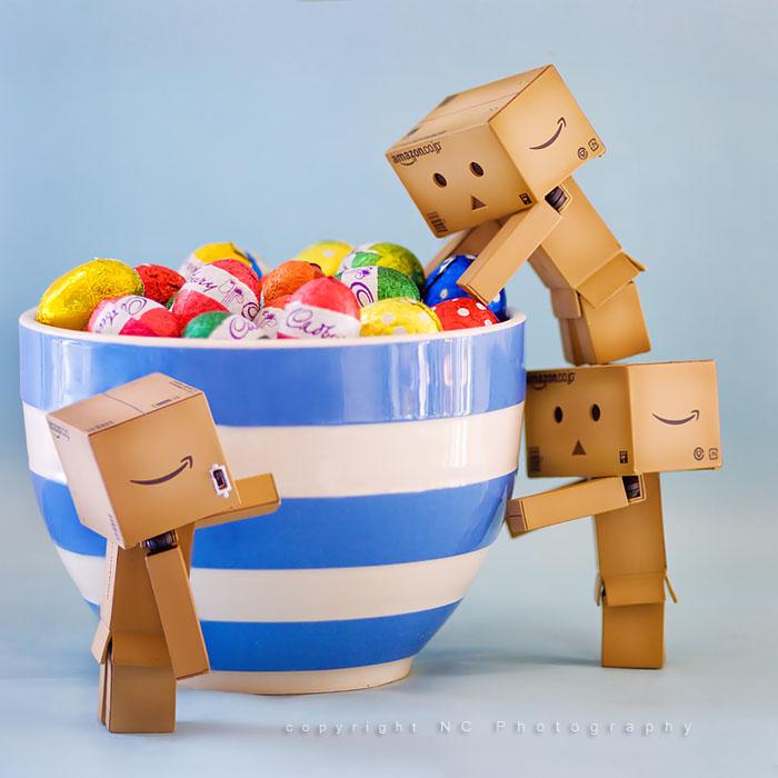 Cara Membuat Boneka Danbo Dari Kertas Karton, Penasaran?