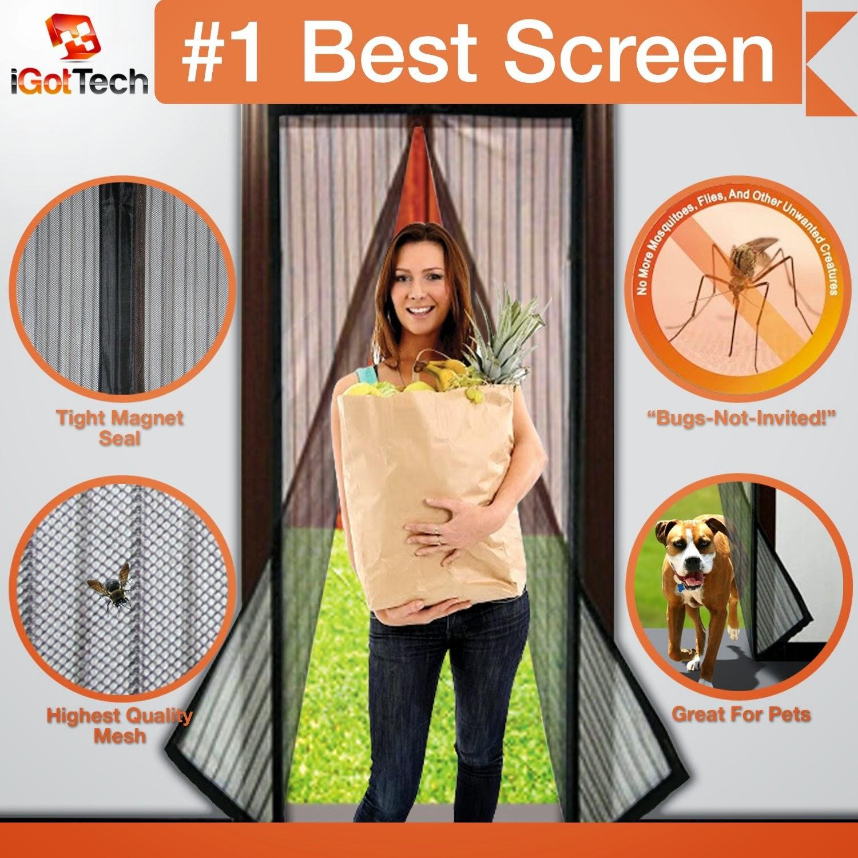 Magnetic Screen Door : Heart product review magnetic screen door by igottech