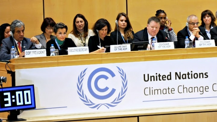 Climate negotiations kicked off Sunday in Geneva. (Credit: UNFCCC/Flickr) Click to Enlarge.