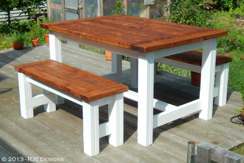 Bepa s Garden Building a Farmhouse Table