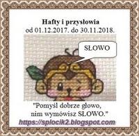 Hafty i przysłowia 2018