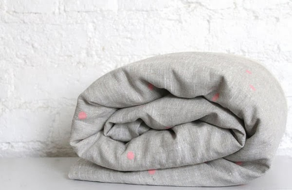 Linen Cotton Toddler Doona Cover from hello milky Etsy Shop