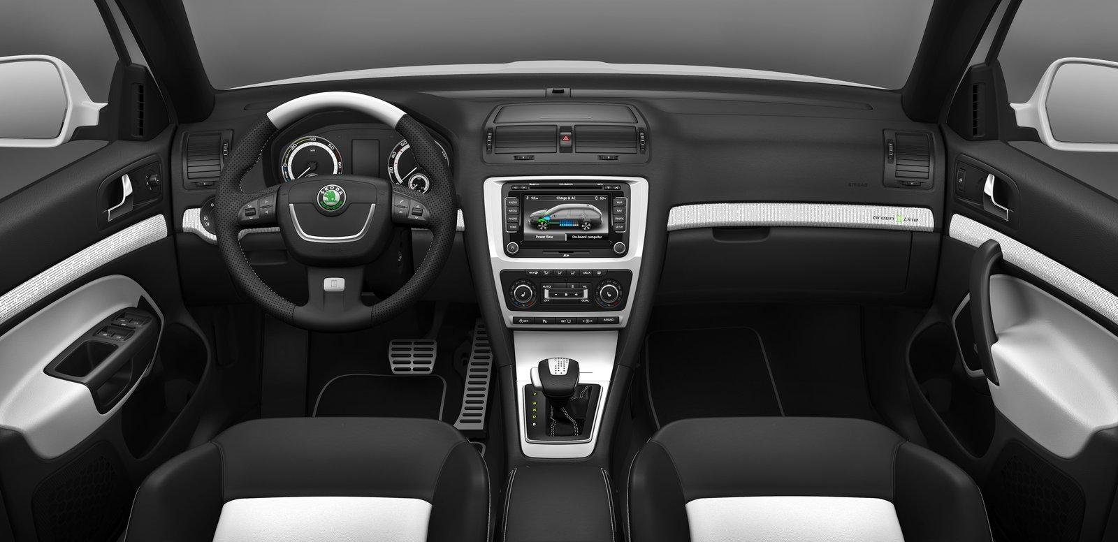 2011 skoda octavia review picture moto and car for Skoda octavia interior