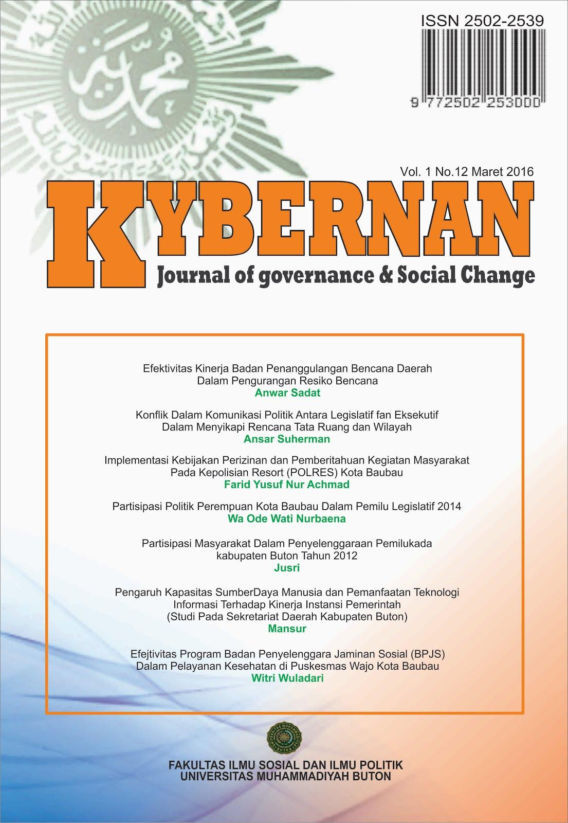 Jurnal Kybernan