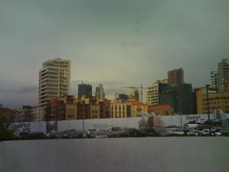 downtown Beirut renovations