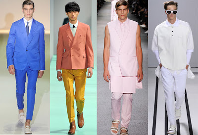 New Spring 2013 fashion trends for men