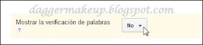 Desactivar el catpcha de los comentarios en Blogger