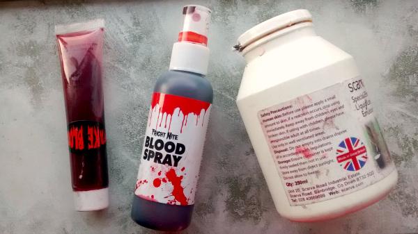 Fake Blood and Liquid Latex