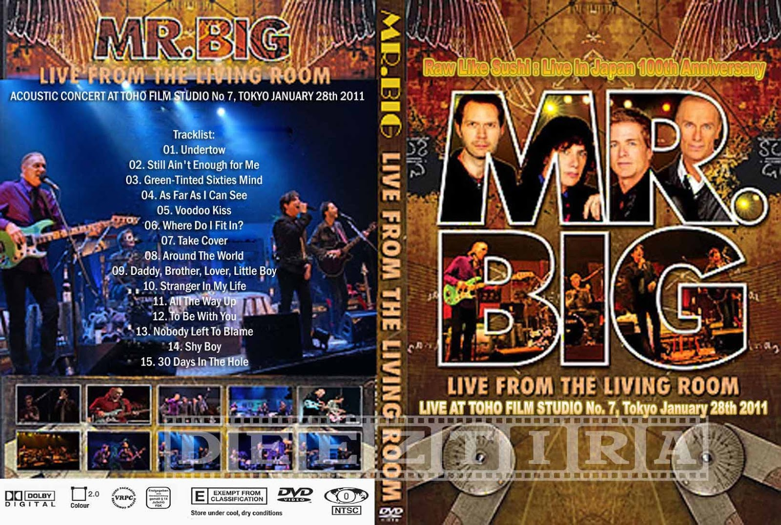 Youdiscoll Mr Big Live From The Living Room 2012