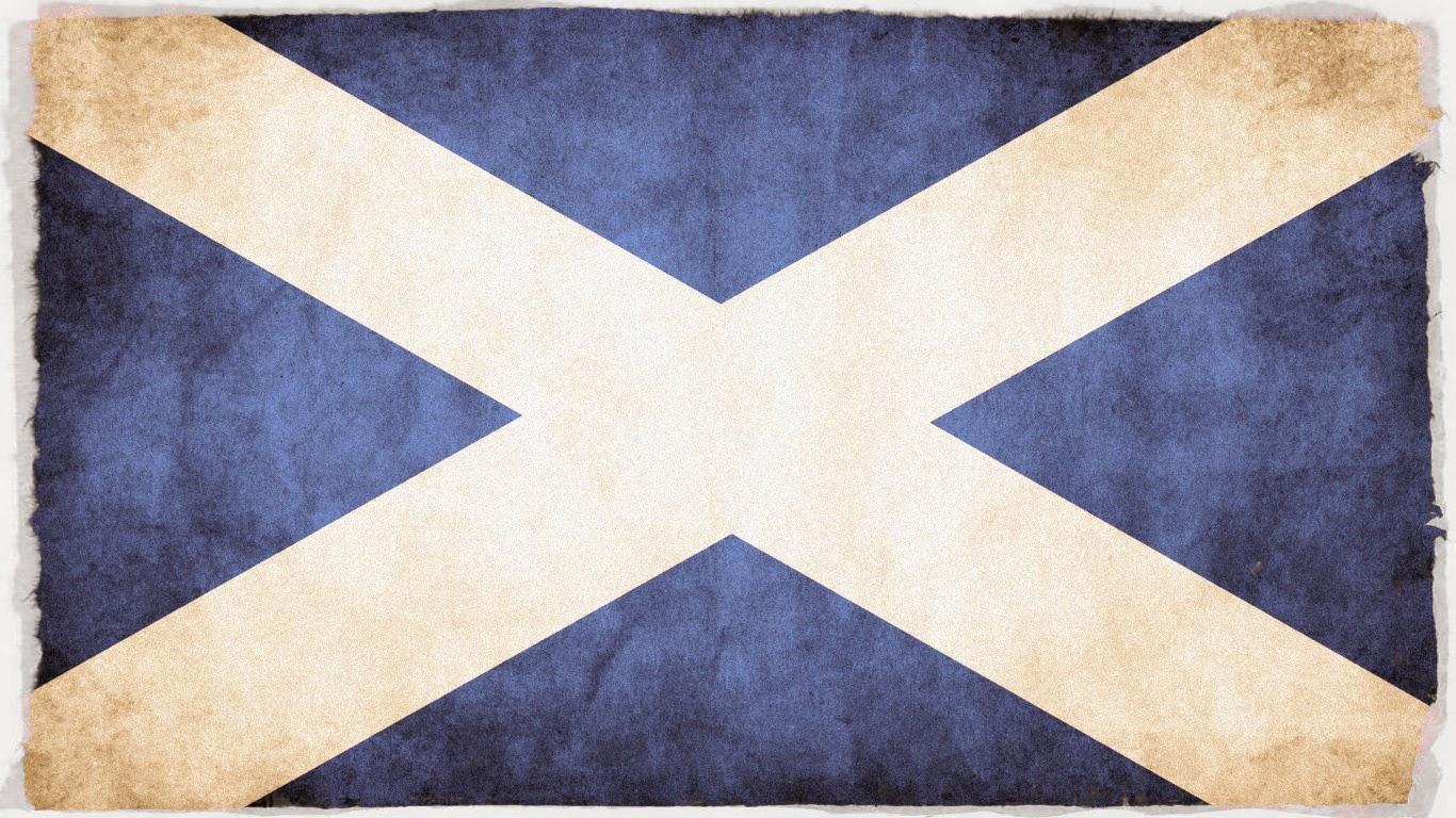 Skócia zászlaja