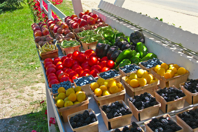 Summer At Lake Michigan Cherry Point Farm And Market,White Kitchen Cupboards For Sale