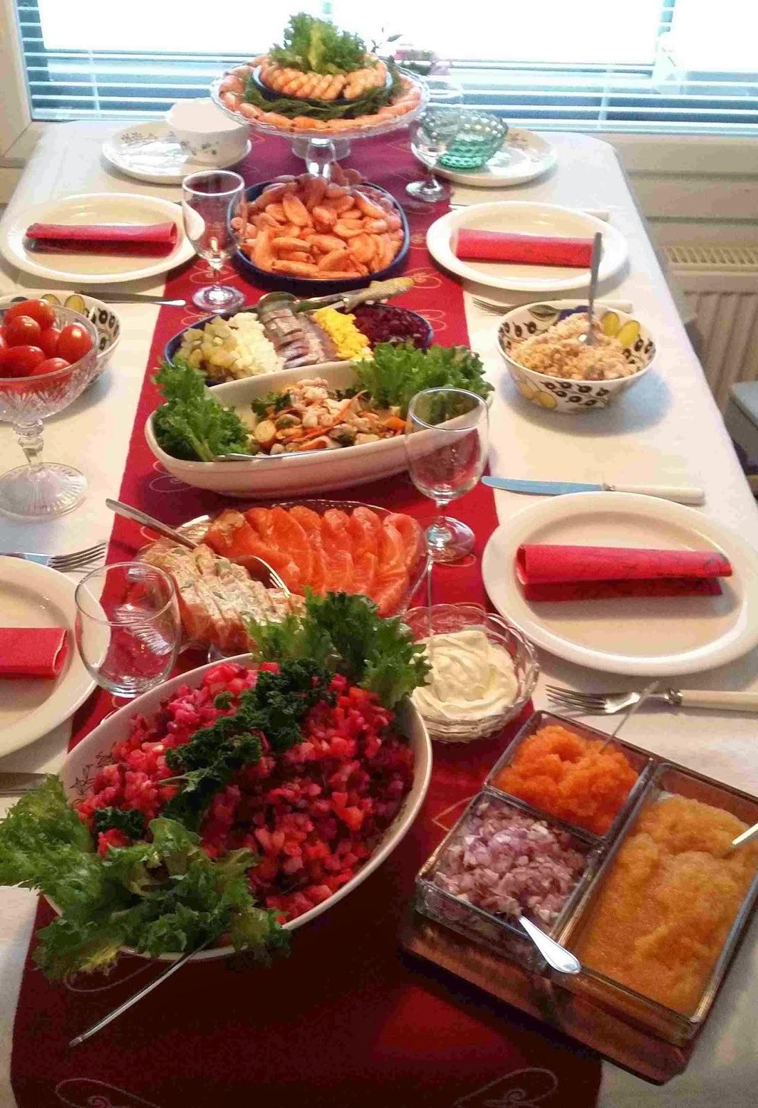 joulupöytä ArjaMarjan keittiössä katettua!: Joulupöytä 2014 teemalla