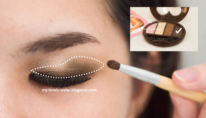 My Lovely Sister ♥ a blog with love: Tutorial : Membuat mata ...
