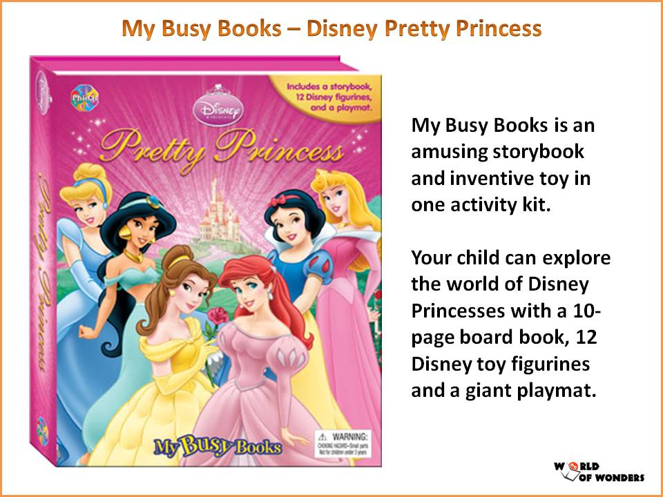 World Of Wonders My Busy Books 6 Titles Available